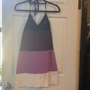 Lacoste halter tennis dress